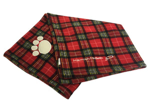 Hamish McBeth Pet Blanket - Tartan Red