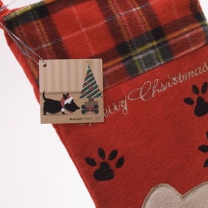 Hamish McBeth Christmas Dog Stocking
