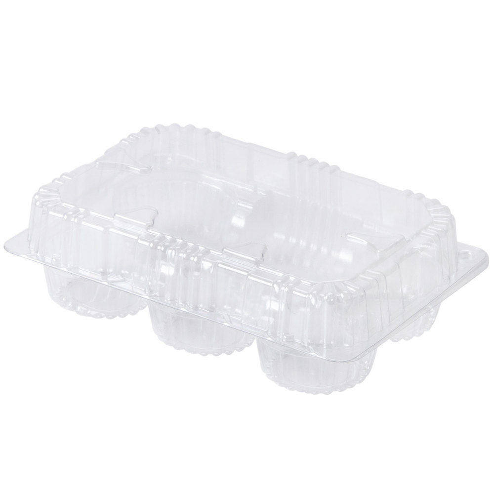 12 pcs 6 Cupcake High Dome 4 Muffin Holder Box Container Carrier
