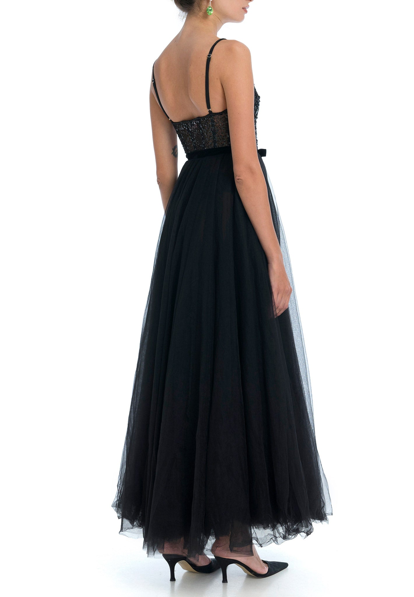 Nephele Beaded Gown
