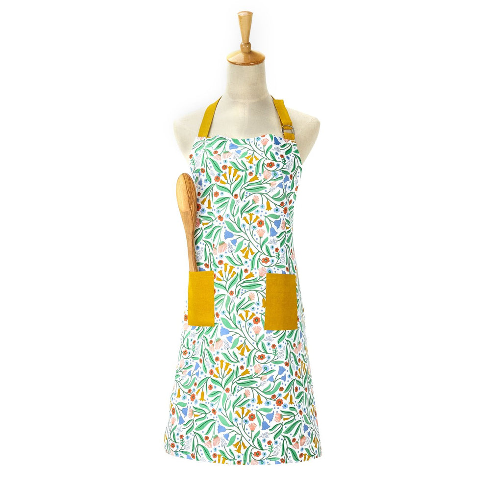Load image into Gallery viewer, Illustrated Cotton Apron
