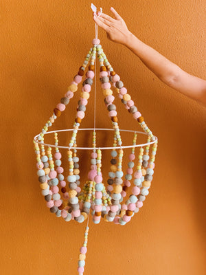 Load image into Gallery viewer, Pom Pom Chandelier