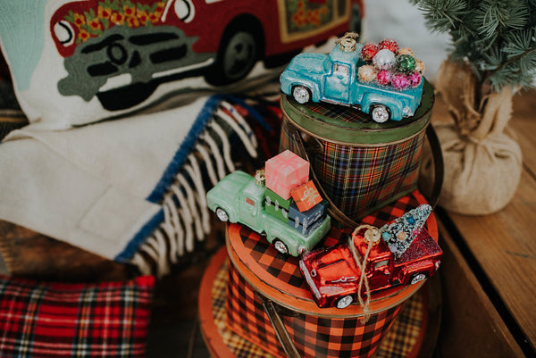 Holiday Truck Ornament