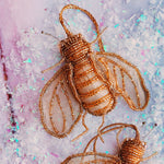 Gold Bee Ornament