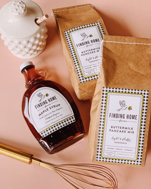 Finding Home Farms Pancake Mix & Syrup