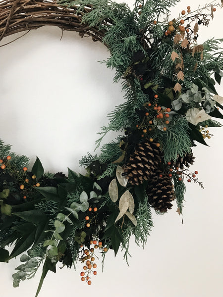 Winter Wreath Making Workshop with Faith Hundley - December 9th