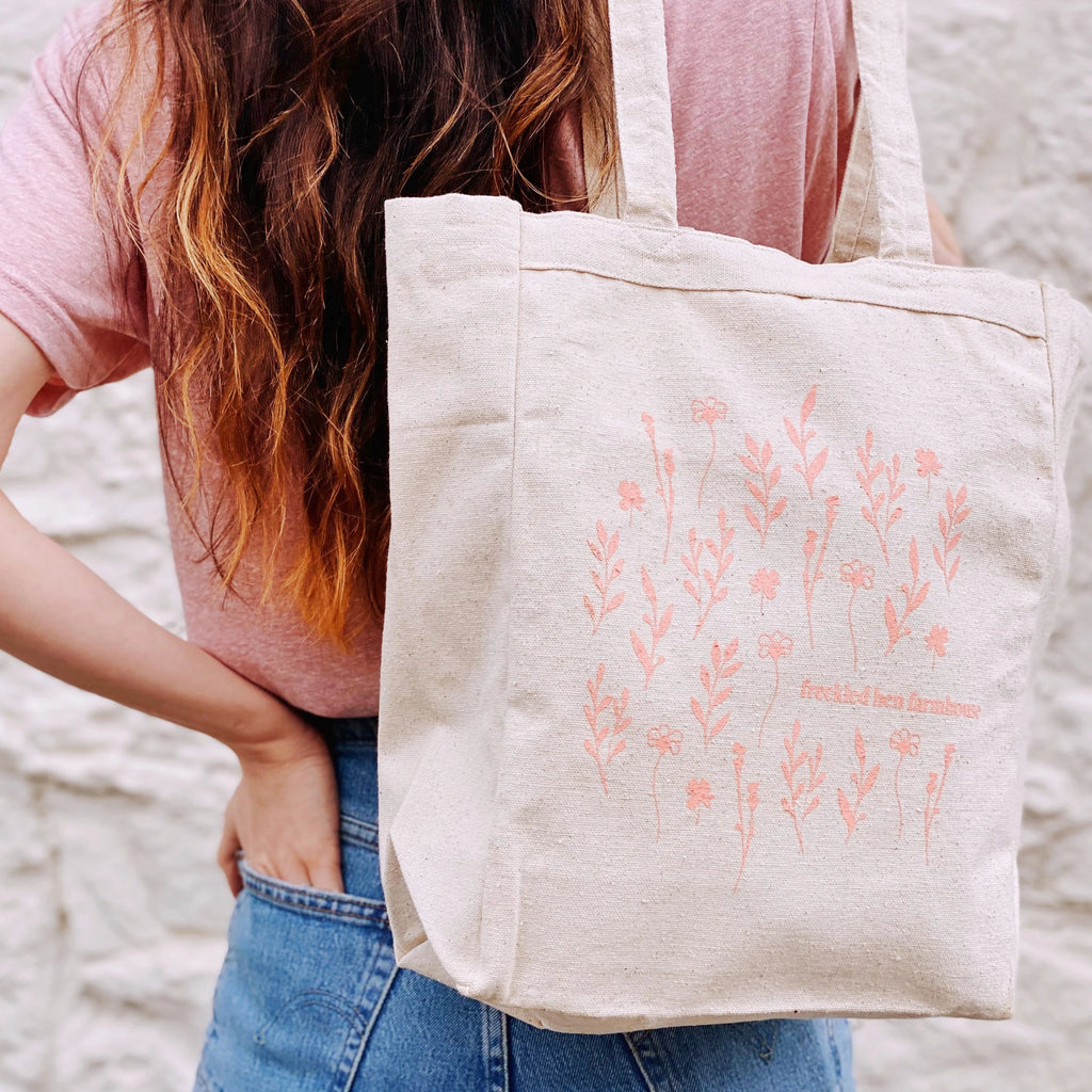 Freckled Hen Farmhouse Tote Bag