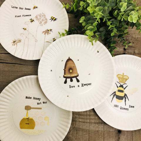 Small Bee Plate