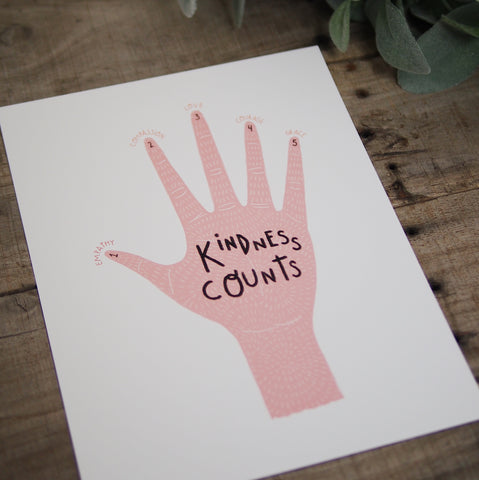 Kindness Counts Print