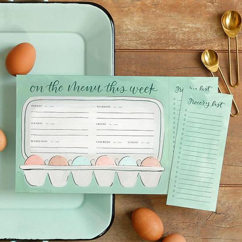 Egg Meal Planner & Grocery List