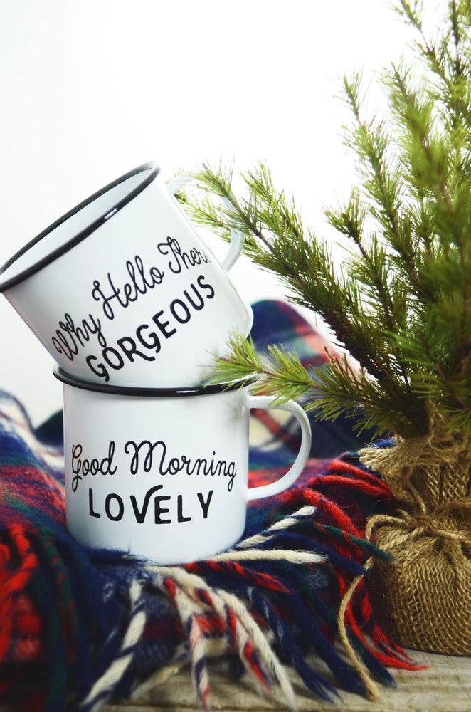Load image into Gallery viewer, Hello and Good Morning Mug