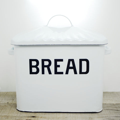 Enamelware Bread Box