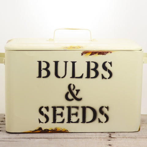 Metal Bulbs & Seeds Bin