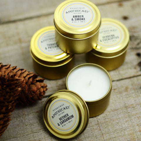 Mini Apothecary Tin Candle