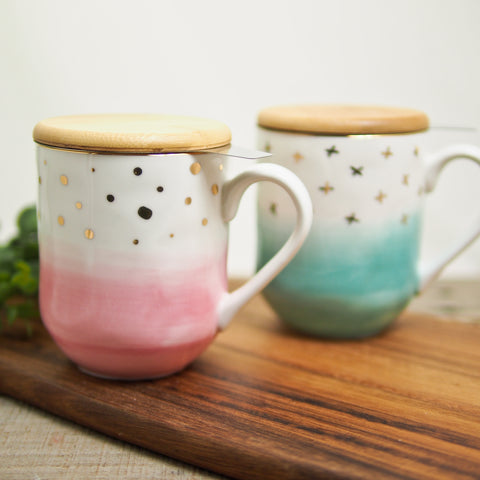 Ceramic Mug With Infuser