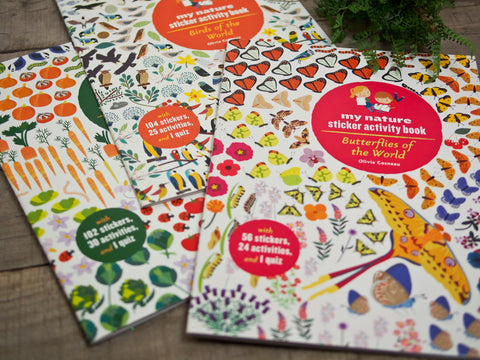 My Nature Sticker Books