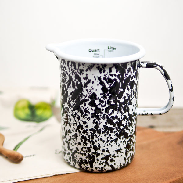 Enamelware Measuring Pitcher