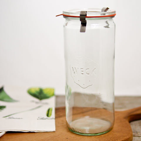 1 L Weck Cylindrical Jar