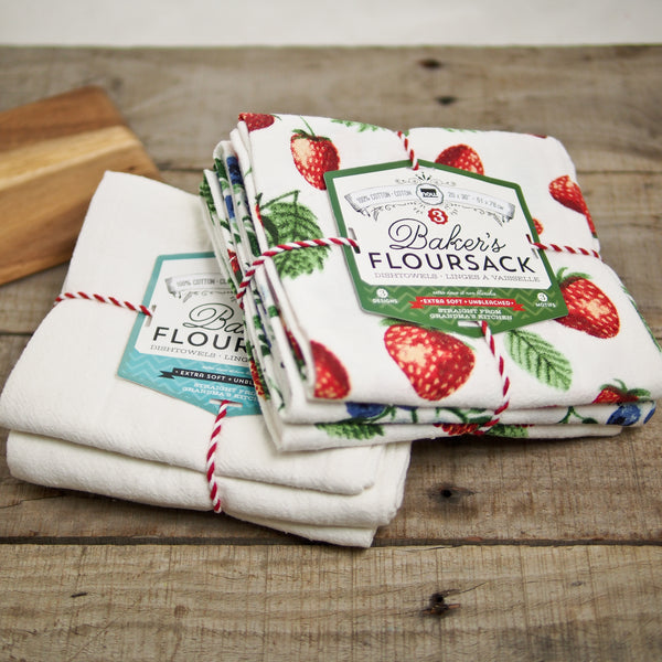 Flour Sack Tea Towel Set