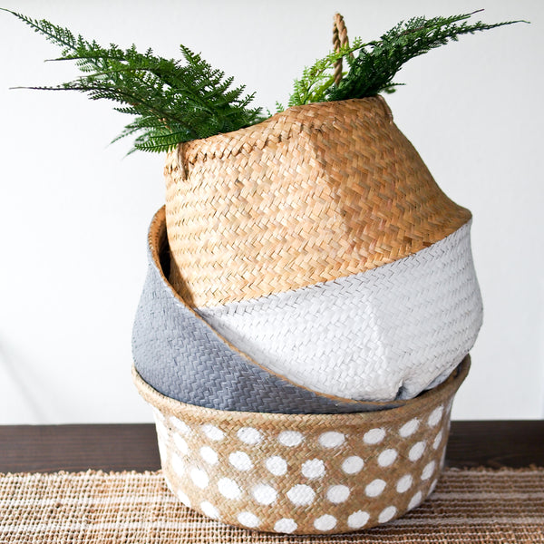 Round Seagrass Basket