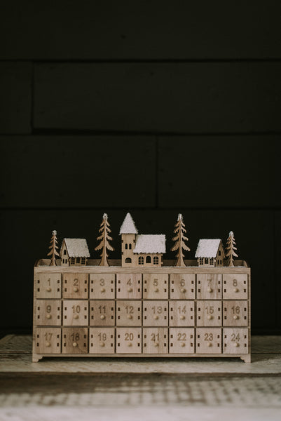 Wooden Advent Calendar