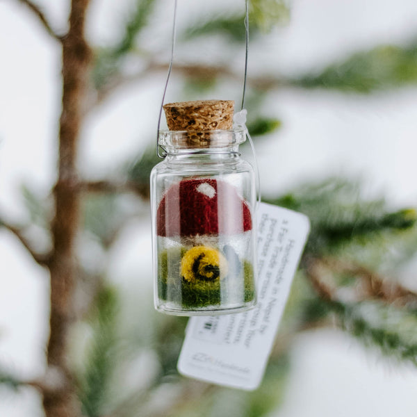Mini Bottle Ornament