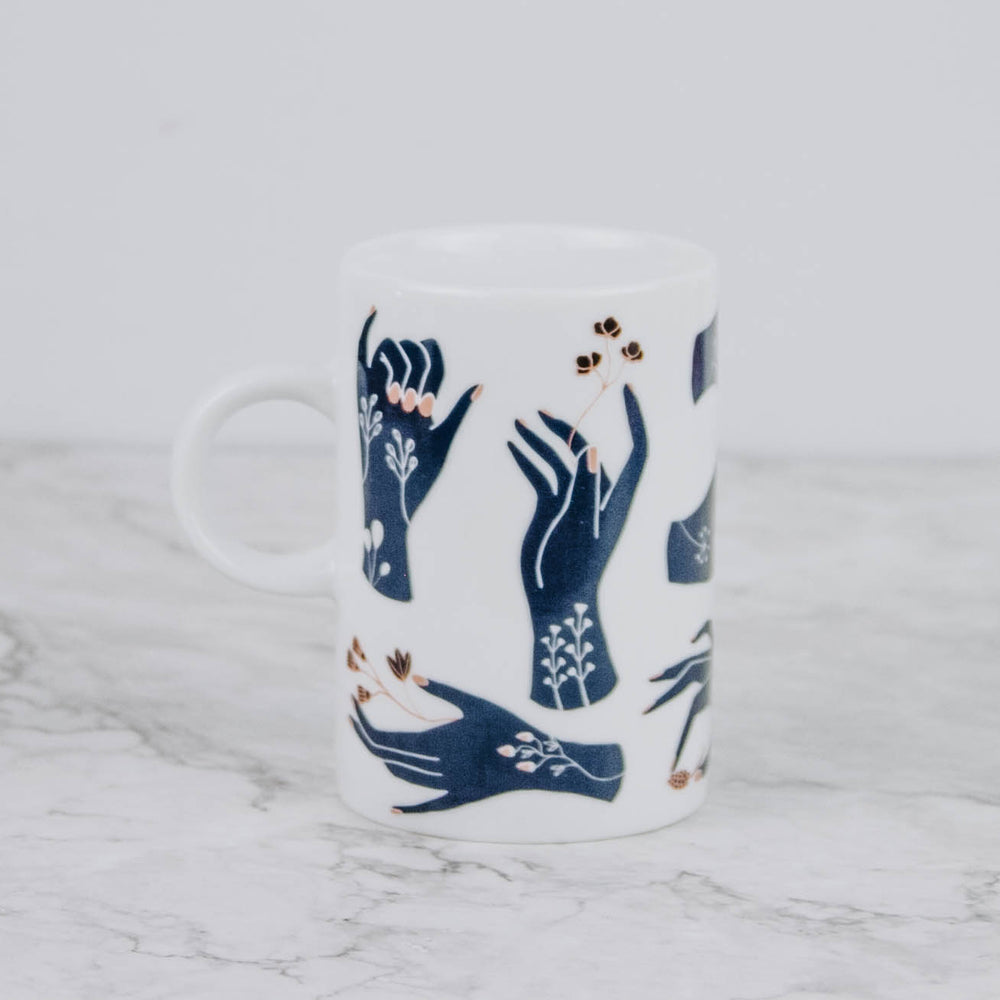Load image into Gallery viewer, Floral Hands Mug