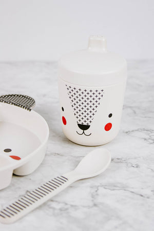 Bear Bamboo Baby Dinnerware Set