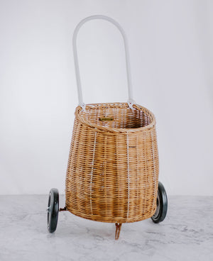 Load image into Gallery viewer, Kids Woven Shopping Basket