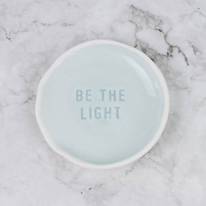 Colorful Quote Dish