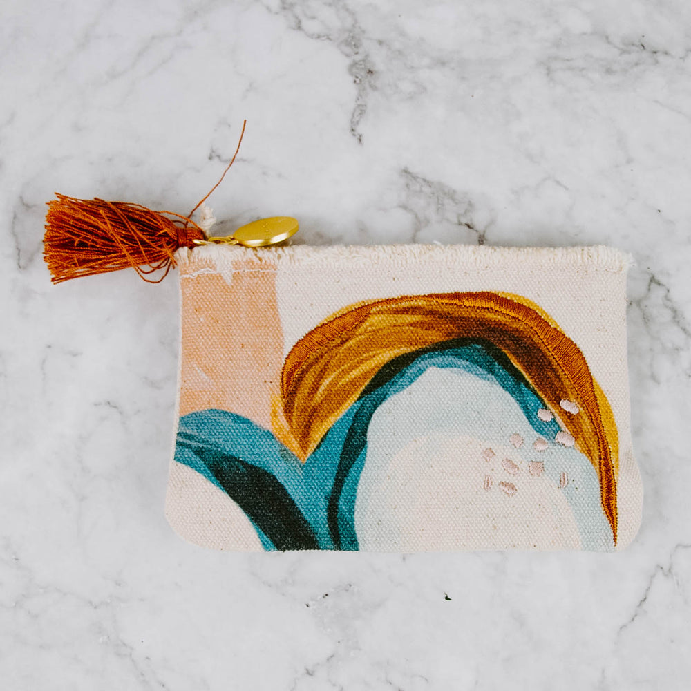 Abstract Art Pouch