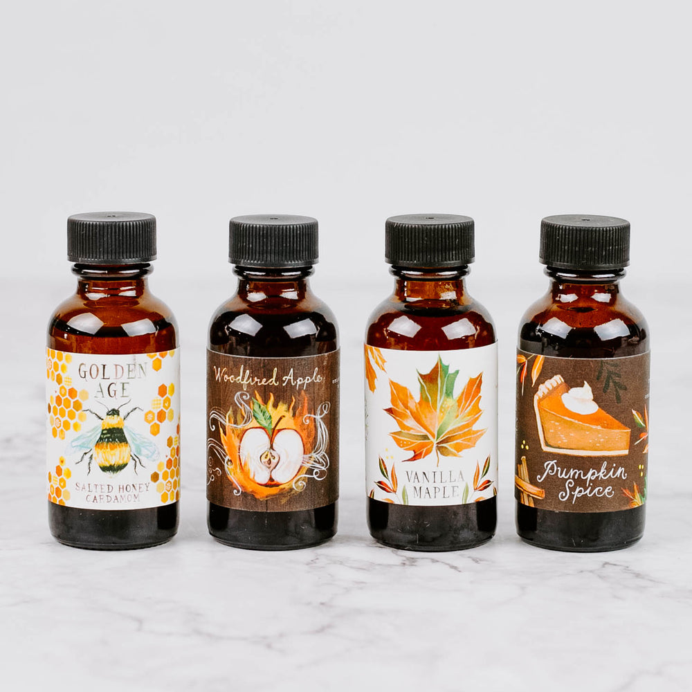 Fall Simple Syrup Sampler