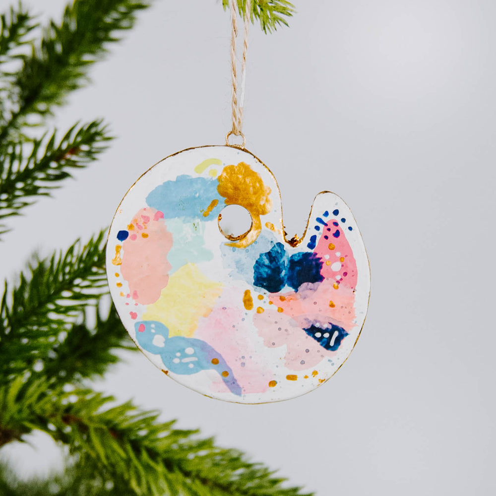 Paint Palette Ornament