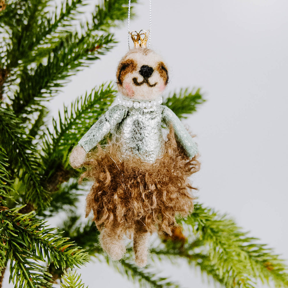 Fancy Winter Animal Ornament
