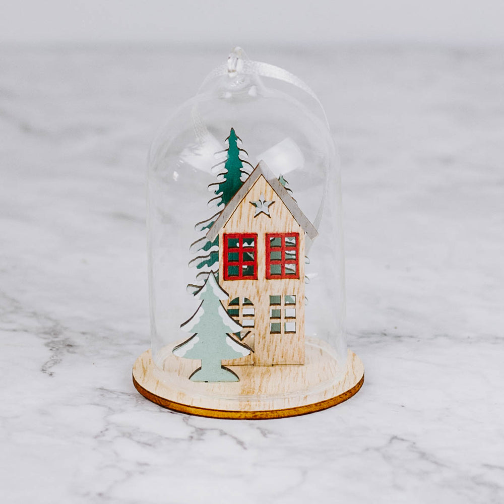 Bavarian House Dome Ornament