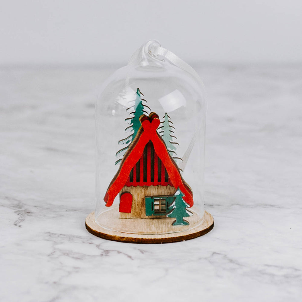 Load image into Gallery viewer, Bavarian House Dome Ornament