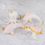 Pastel Party Sea Animal Ornament