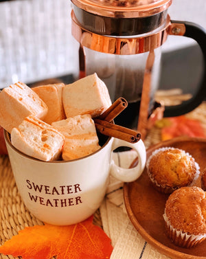 Pumpkin Spice Handcrafted Marshmallows