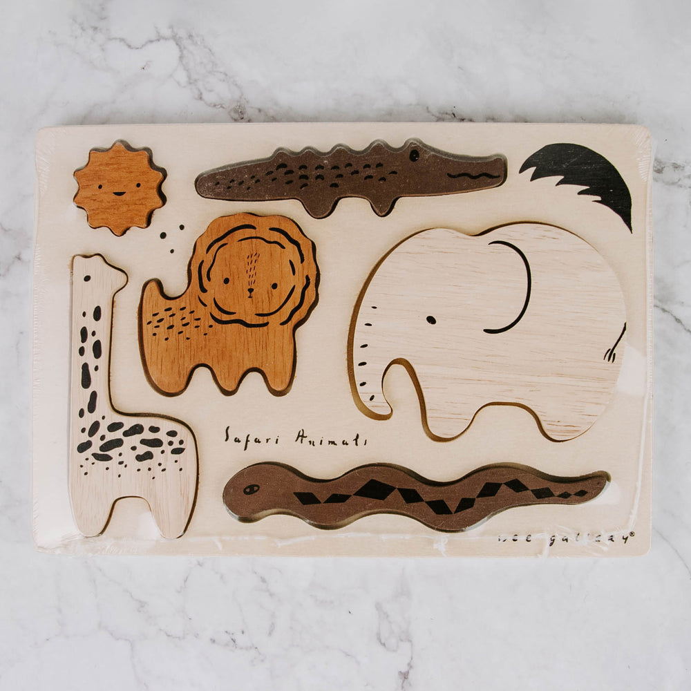 Safari Animal Wooden Puzzle