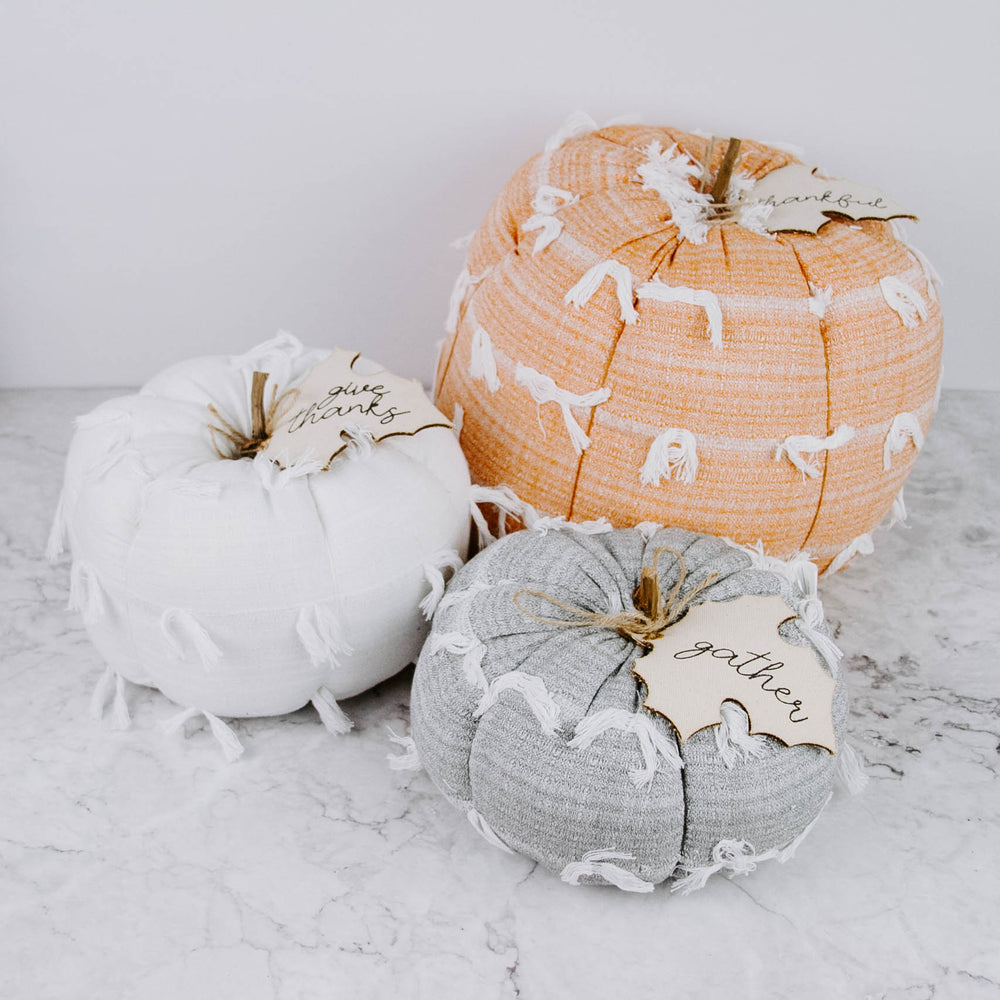 Plush Pumpkins