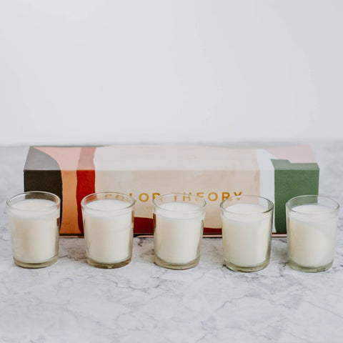 Neutral Essentials Votive Candle Set