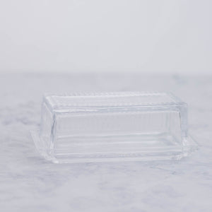 Load image into Gallery viewer, Glass Butter Dish