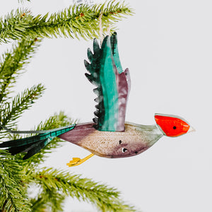 Flying Bird Ornament