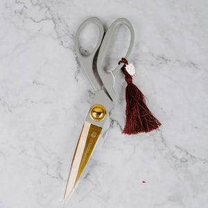 Luxe Scissors With Tassel & Charm