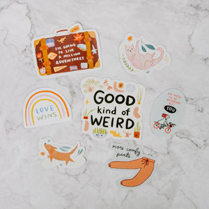 Load image into Gallery viewer, Abbie Ren Illustration Stickers