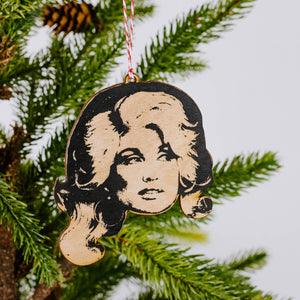 Country Music Icon Ornaments
