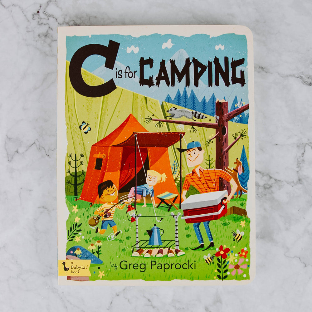 C is for Camping Book