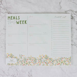 Weekly Meal Planner & Market List