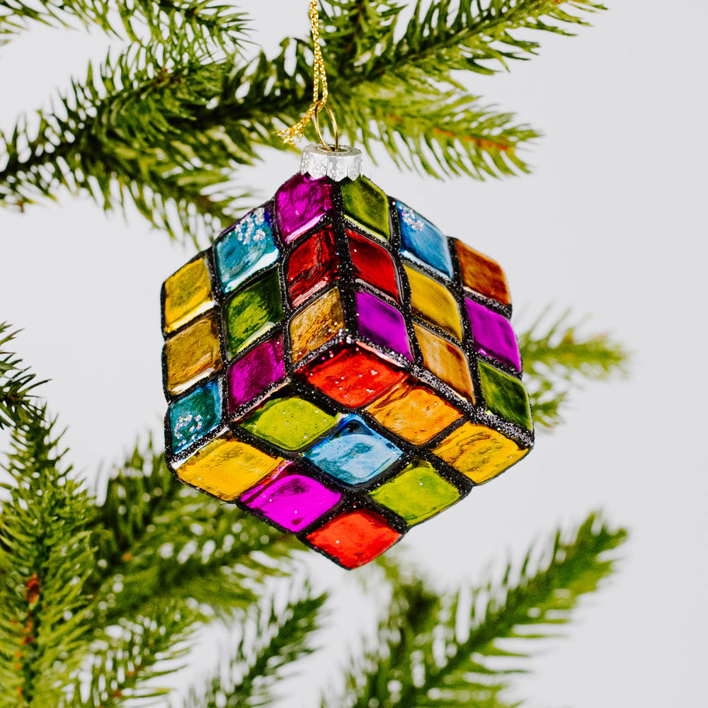 Load image into Gallery viewer, Rubik's Cube Ornament