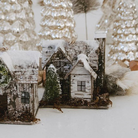 Light-Up Woodland Cabin Ornament